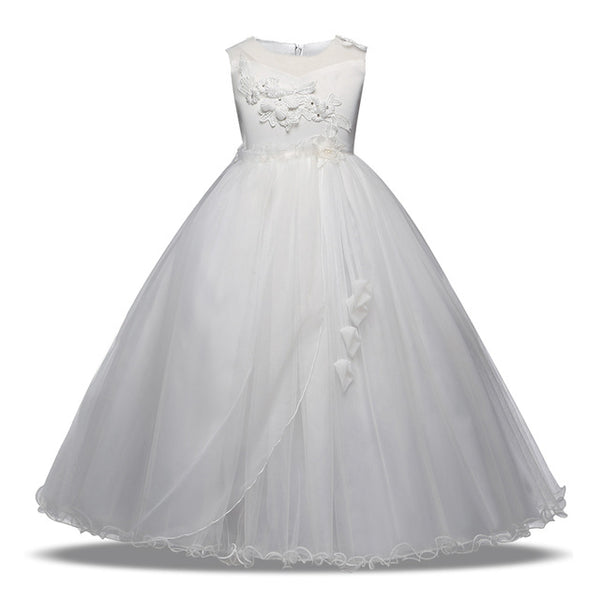 Princess Flower Girl Formal Dress