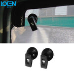 1 Pair Car Interior Window Suction Cap wt. Curtain/Towel Clip