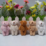 Miniature (6cm) Plush Mini Teddy Bear Pendants For Key chain (20 pcs/lot)
