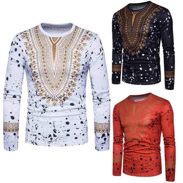 Men's Casual African Blouse