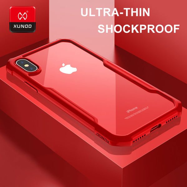 Shockproof/Anti-Scratch Silicone Ultra thin Protection Case For iPhone X 6S 7 8 Plus Phones