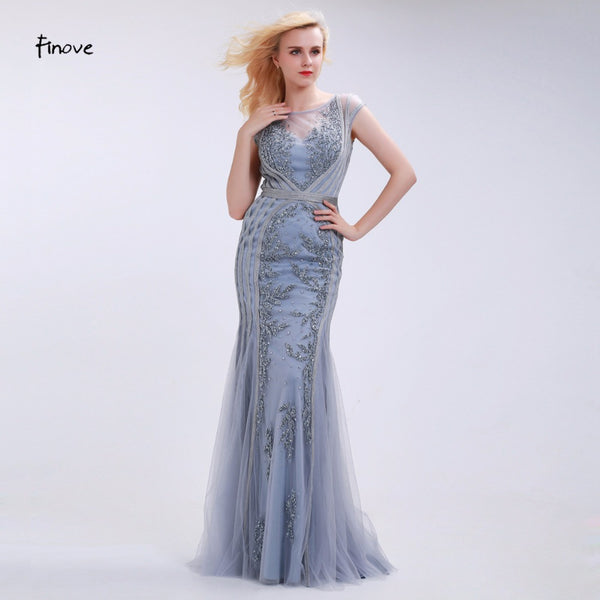 Elegant Mermaid Evening Long Dress