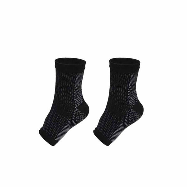 1 Pair Compression Open Toes Ankle Socks