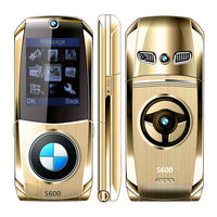 Small Size Flip Mobile Phone with Dual SIM Cards Slots