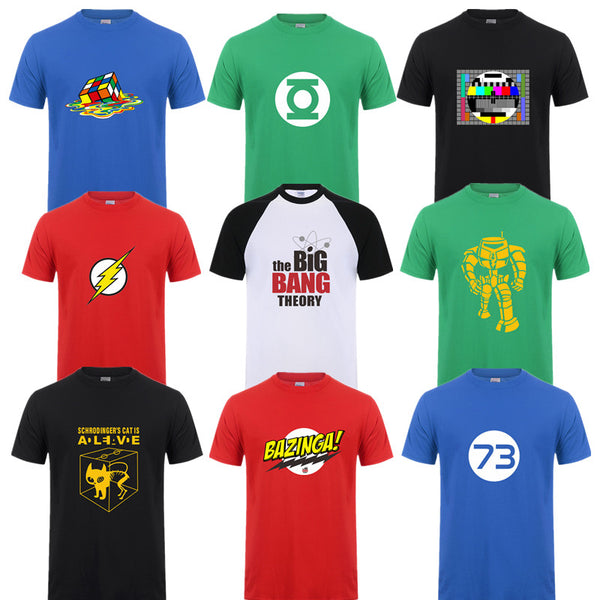 Big Bang Theory Characters T-Shirts