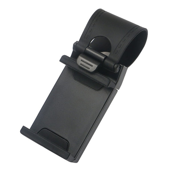 Universal Car Steering Wheel Phone Clip Mount Holder