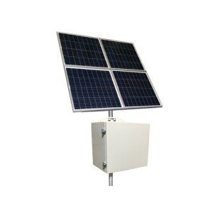 Tycon RPSTL12-400-320 80W Continuous Solar Remote Power System with 12V Battery & 20A