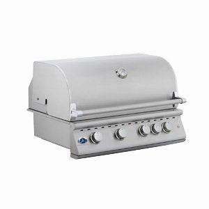 "OCI 32"" 4-burner Built-in Gas Grill w/ lights.. Gas Type: Natural"