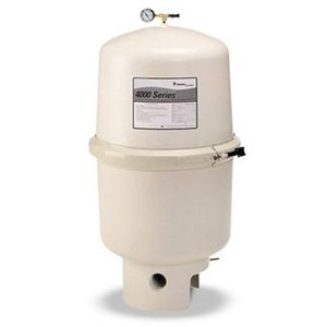 Pentair 011555 SMBW 4000 Series Sheet Molded Fiberglass D.E. Pool Filter With Backwash Valve, 47 Square Feet, 94 GPM