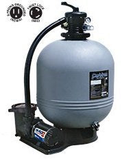 "WaterWays Carefree 22"" Sand Filter with 1.5 h.p. Pump with Standard NEMA cord"