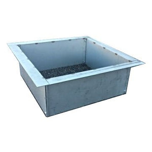 "36""Square Stainless Steel Metal Fire Pit Liner-Insert"