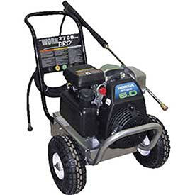 Mi-T-M WP-2700-4MHB Cold Water Direct Drive, 187cc Honda OHC Gasoline Engine, 2700 PSI Pressure Washer