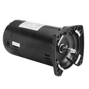 A.O. Smith Replacement Square Flange Motor 2HP Full-Rated Single-Speed - Pool Pump Motors - Square Motor