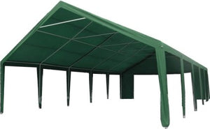 20' x 40' ft Outdoor Wedding Party Tent Gazebo Carport Shelter Garage Rental Green