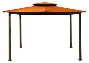 Paragon-Outdoor GZ584NR Backyard Structure Soft Top Sedona Gazebo, 11 ' x 14', Rust