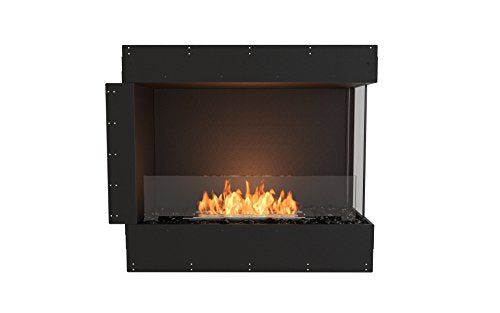 EcoSmart Fire ESF.FX.32RC Flex Fireboxes Insert, Right Corner, Black