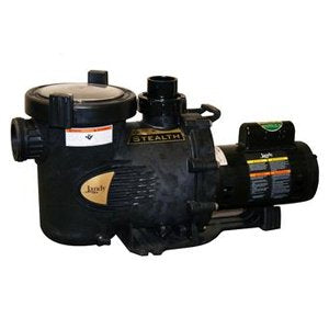 Jandy - Jandy Stealth SHPF Full-Rated Single Speed Pool Pump - 1 HP