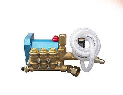 PRESSURE WASHER PUMP - Plumbed - CAT 4PPX30GSI - 2.7 GPM - 3000 PSI - 3400 RPM