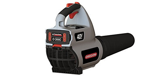 Oregon Cordless BL300 Leaf Blower Kit 6.0 Ah Battery Pack Rapid Charger