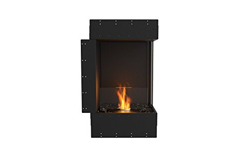 EcoSmart Fire ESF.FX.18RC Flex Fireboxes Insert, Right Corner, Black
