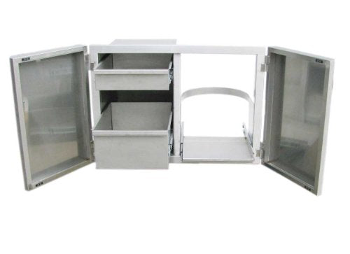 SUNSTONE C-LPDC Premium Drawer Combo Tank Tray Enclosure