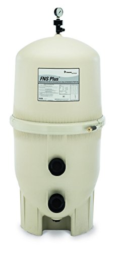Pentair 180009 FNS Plus Fiberglass Reinforced Polypropylene Material, Vertical Grid, D.E. Pool Filter, 60 Square Feet, 120 GPM