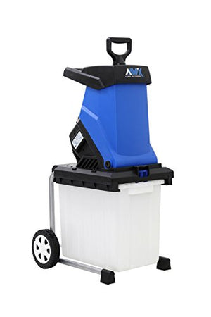 AAVIX AGT308 Electric Chipper & Shredder, Blue