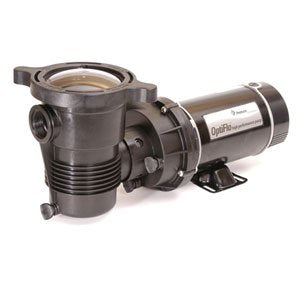 Pentair 347981 OptiFlo Horizontal Discharge Aboveground Pool Pump with Cord and Standard Plug, 3/4 HP