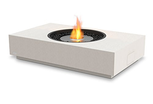 EcoSmart Fire ESF.O.MTI.BO Martini Freestanding Fireplace, Bone Concrete