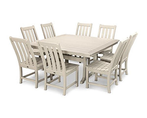 Vineyard 9-Piece Dining Set (Sand)