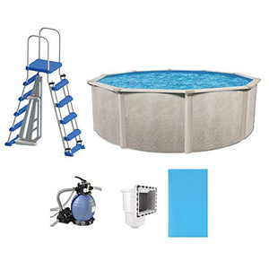 "Cornelius Phoenix 15' x 52"" Above Ground Swimming Pool Kit w/Pump & Ladder Kit"