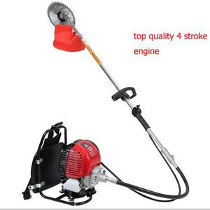 CHIKURA GX35 backpack gasoline 4 stroke brush grass cutter trimmer handle mower glass trimmer weeding lawn