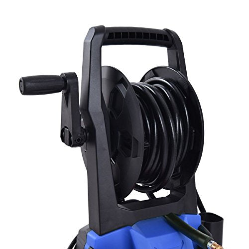 Moon_Daughter Blue High Powered Electric Pressure Washer 3000 PSI Flat or Jet Water Sprayer 2000W