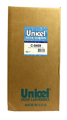 4) Unicel C-8409 CX900RE PXC-95 Sta-Rite Hayward Replacement Pool Filters C8409