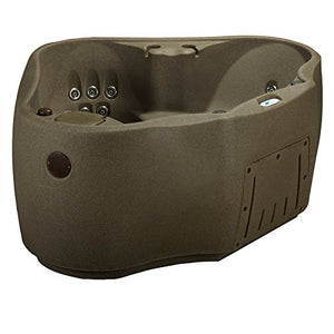 AquaRest Spas AR-300 2 Person 14 SS Jets with Easy Plug and Play and LED Waterfall