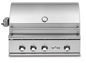 Delta Heat Built-In Grill with Infrared Rotisserie (DHBQ32RS-C-L), 32-Inch, Propane Gas
