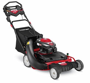 Troy-Bilt WC28 195cc In-Step 28-Inch RWD Wide-Cut Lawn Mower