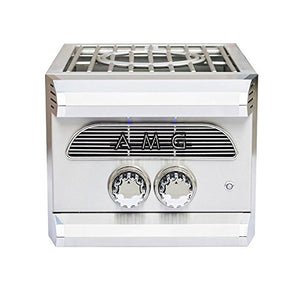 American Muscle Grill AMGPB-NG Built-in Side Power Burner, Natural Gas