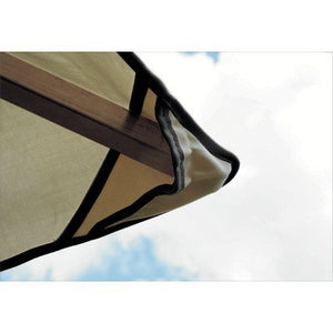 ACACIA 12 Ft. x 12 Ft. Canopy Color: Khaki