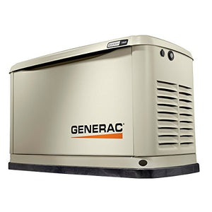 Generac 70311 Home Standby Generator Guardian Series 11/10kW Air-Cooled with Wi-Fi, Aluminum