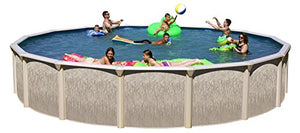 "Galveston GA1852 18' x 52"" Round Above Ground Pool package, Large"