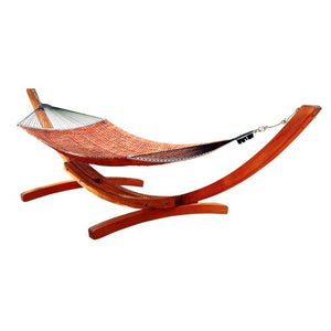 Vifah V138G Wood Hammock Stand in Classic Arc Design
