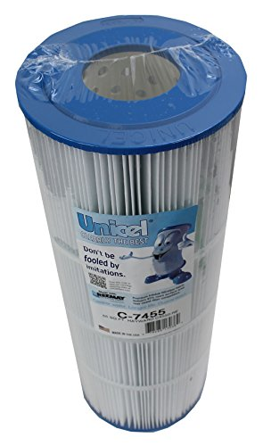 4) Unicel C-7455 Spa Replacement Cartridge Filters 55 Sq Ft Hayward C550 PA55
