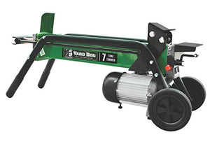North American Tool 8999 Electric Horizontal Log Split, 7 Ton, 2 Hp