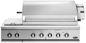 DCS Built-In Traditional Gas Grill with Rotisserie and Side Burner (71298) (BH1-48RS-L), 48-Inch, Propane