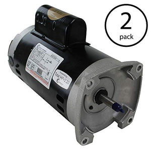A.O. Smith Century Square Flange 2HP 230V Frame Up-Rate Pool Motor (2 Pack)