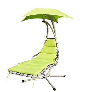 Walcut Series of My Hot Sexy Summer Outdoor/Indoor Green Hanging Hammock Lounger Chair Arc Stand Air Porch Swing Hammock Chair