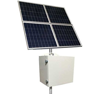 Tycon RPSTL24-100-320 50W Continuous Solar Power System with 24V Battery & 20A