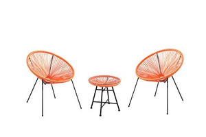 Velago 15805 Acapulco Outdoor Furniture, Orange