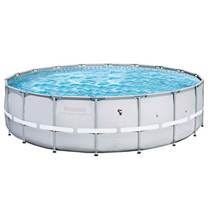 "Bestway 18' x 52"" Power Steel Pro Frame Above Ground Swimming Pool (2 Pack)"